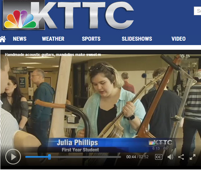 KTTC TV story: Student Guitar Show 2017