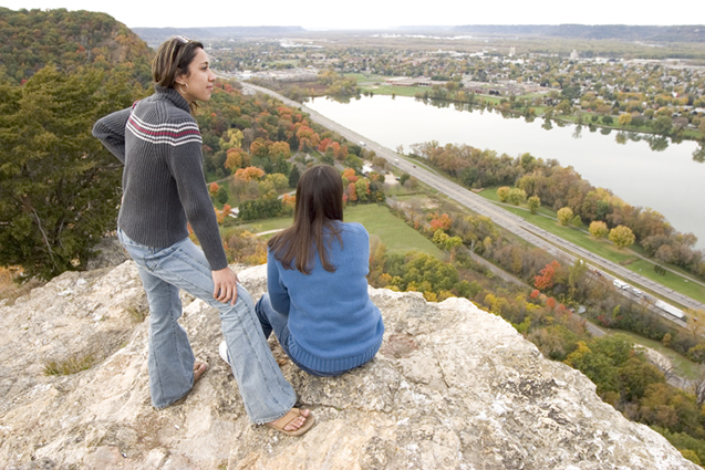 bluff overlook Winona