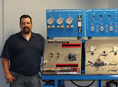Andy George, Mechatronics Instructor